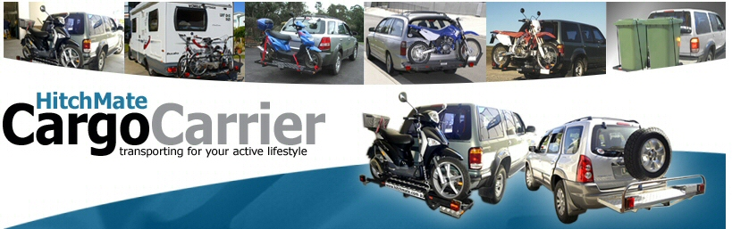 Hitchmate Cargo Carrier, transporting for your active lifestyle